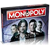 Supernatural Monopoly Board Game