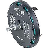 Wolfcraft 5978000 Gatenzaag, Verstelbare Universele Cirkelsnijder Voor Accuschroevendraaier En Boormachine, Voor Gipsplaten E