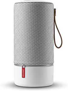 Libratone Zipp Altoparlante Wireless (360 ° Suono, WiFi, Bluetooth, MultiRoom, Airplay 2, Spotify Connect, 10 Ore Batteria Ricaricabile) - Cloudy Grey