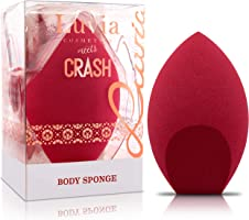 Body Sponge – Extra Großer Make-Up Blender Schwamm In Rot – Designed By Luisa Crashion & Luvia Cosmetics