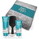 TIGI Bed Head Confezione Regalo - Shampoo e Conditioner per l'Idratazione dei Capelli + Spazzola Per Capelli