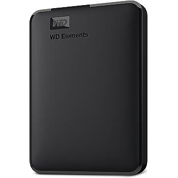 WD Elements Disque Dur Portable Externe -USB 3.0 1 to Noir