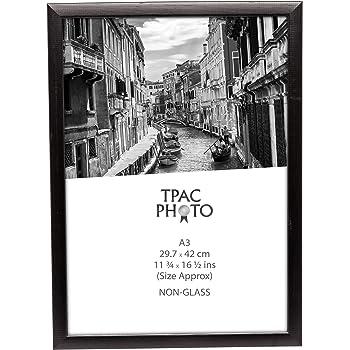 PAWFA3BBLK Matt Black Wood A3 (30x42cm) Certificate / Photo Frame ...