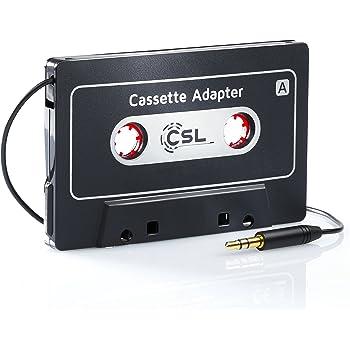 Sedeta/® Car Audio Tape Kassette zu Jack AUX F/ür iPod MP3 iPhone Konverter Adapter
