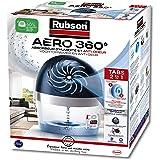 Rubson AERO 360° Absorbeur d'humidité pour pièces de 20 m², déshumidificateur d'air anti odeurs & anti moisissure, inclus 1 r