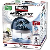 Rubson AERO 360° Absorbeur d'humidité pour pièces de 20 m², déshumidificateur d'air anti odeurs & anti moisissure…