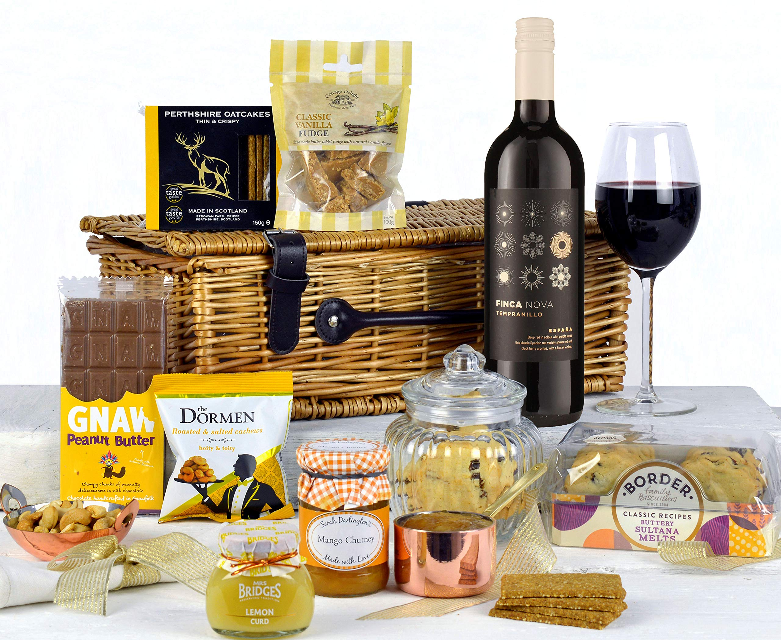 Traditional Food Hampers Any Occasion Gift Hamper With Red Wine Great Luxury For Birthdays Anniversaries Christmas