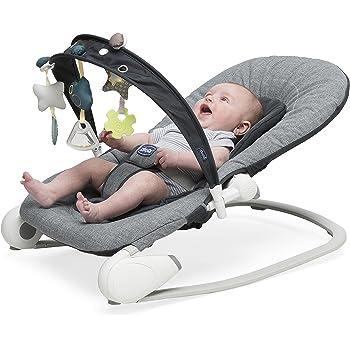 66b5b9031cff Chicco Hoopla Baby Bouncer - Dark Grey  Amazon.co.uk  Baby