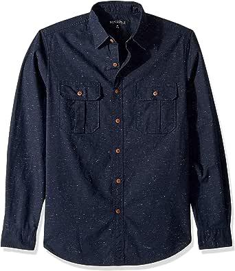 J.Crew Mercantile Men's Long-Sleeve Tweed Workshirt Button Down Shirt
