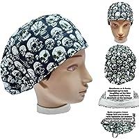 Cappelli chirurgico TESCHI per Capelli Lunghi. Infermieristica Dentisti. Veterinaria Cucina. Ecc. Asciugamano davanti…