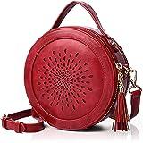 APHISON Damen Umhängetasche Schultertasche Crossbody Schulter Multifunktionale Handy Tasche PU Leder Geschenke für Frauen (2r