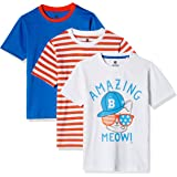 Cloth Theory Boys' T-Shirt (Combo Pack of 3)