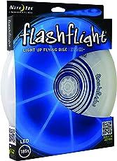Nite Ize Flashflight L.E.D Light Up Flying Disc (Blue, Large)