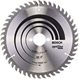 Bosch Professional 2608640617 Optiline Wood Cirkelsågblad, Silver, 190 x 30 mm