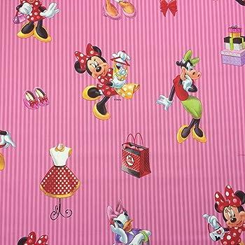 Transparente Gardinen Exclusiv 100% Baumwolle Disney Mickey ...