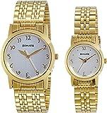Sonata Analog White Dial Unisex Watch NM71178137YM01 / NL71178137YM01
