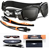 Les lunettes de sécurité spoggles haut de gamme par ToolFreak | une combinaison parfaite de lunettes de sécurité et de lunettes de protection , lentille sombre