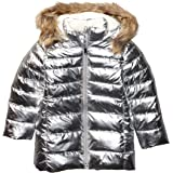 Marca Amazon - Spotted Zebra Long Puffer Coat Niñas