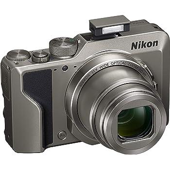 Nikon Coolpix A1000 Fotocamera digitale compatta, 16 Megapixel, Zoom 35X, 4K, mirino elettronico incorporato, RAW (NRW), Bluetooth, Wi-Fi, Argento [Nital Card: 4 Anni di Garanzia]