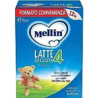 Mellin 4 Latte in Polvere di Crescita - 3 Confezioni di 1200gr [Totale = 3600gr]