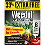 Weedol Ultra Tough Weed Killer Liquid Concentrate (6+2 Tubes)