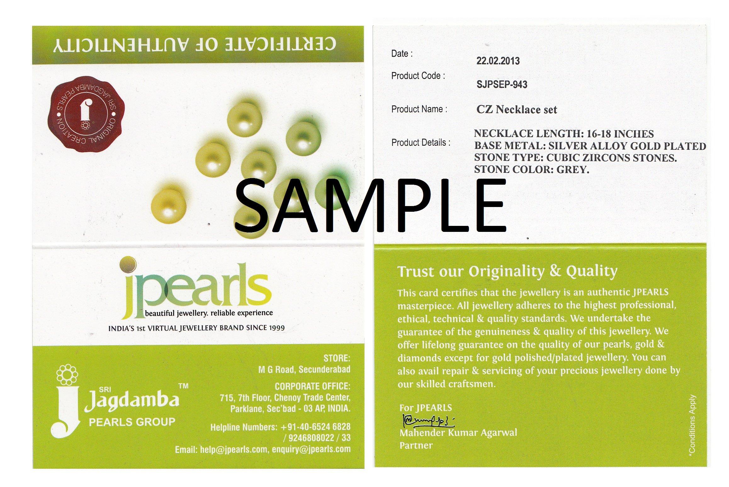 Sri Jagdamba Pearls 18K Yellow Gold and Diamond Hoop Earrings