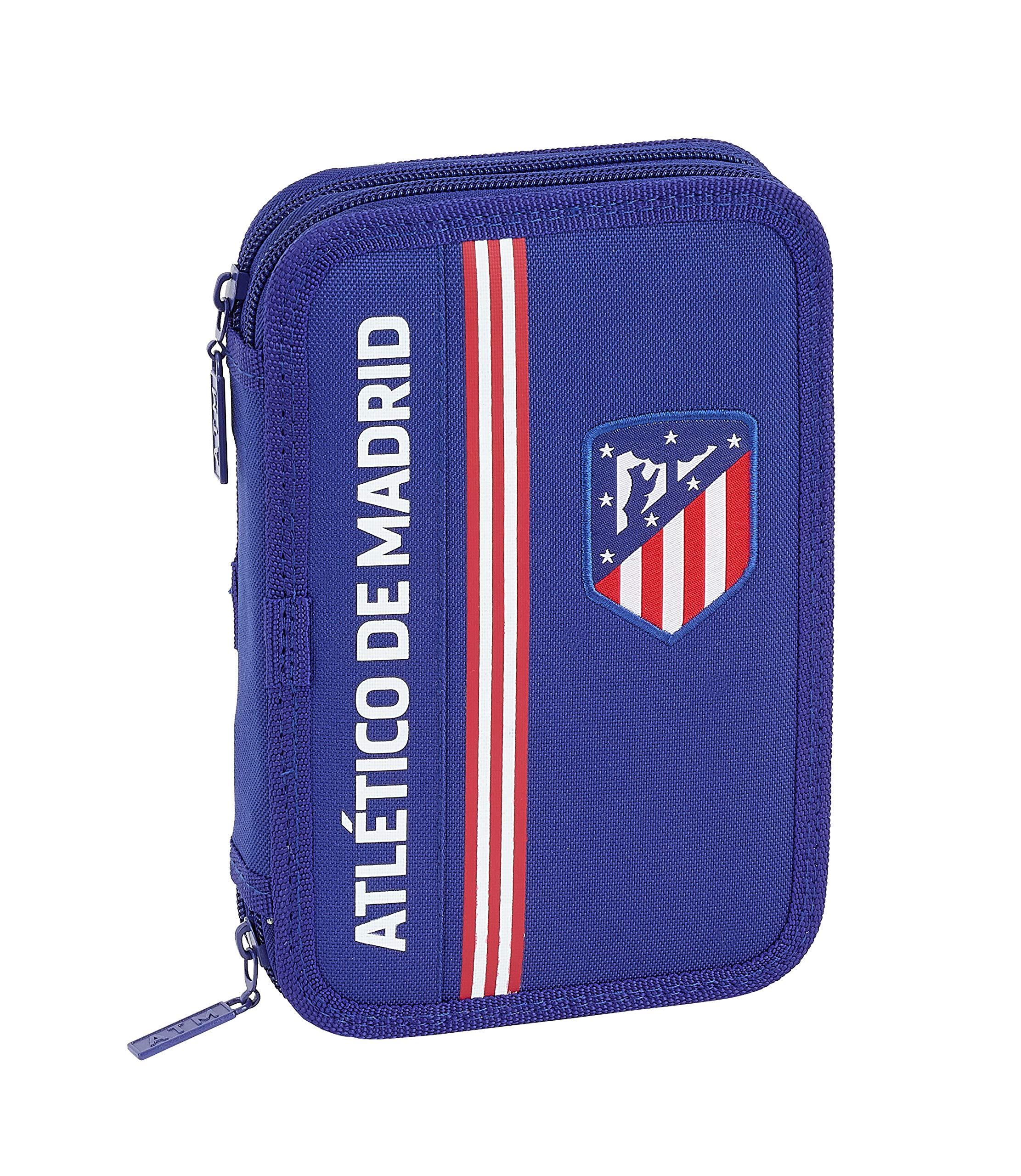 Atlético de Madrid «In Blue» Oficial Estuche 34 Útiles Incluidos 135x45x205mm
