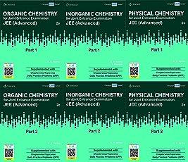 Cengage Chemistry Set Of 6 Books 2019Paperback, B. M. Sharma (Organic Chemistry 1 & 2, Inorganic Chemistry 1 & 2, Physical Chemistry 1 & 2 )
