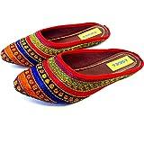 ASIDEA Jaipuri Mojari Rajasthani Jutti for Women and Girls | Ethnic Footwear for Women