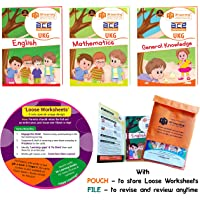 3H Learning ACE UKG 272 Pages Loose Leaf All-in-One Early Learning Activity Worksheets for Kindergarten / Pre-School…