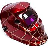 OHMOTOR Masque de Soudage,Automatique Energie Casque de soudage pour plus des modes (TIG MIG MAG etc)