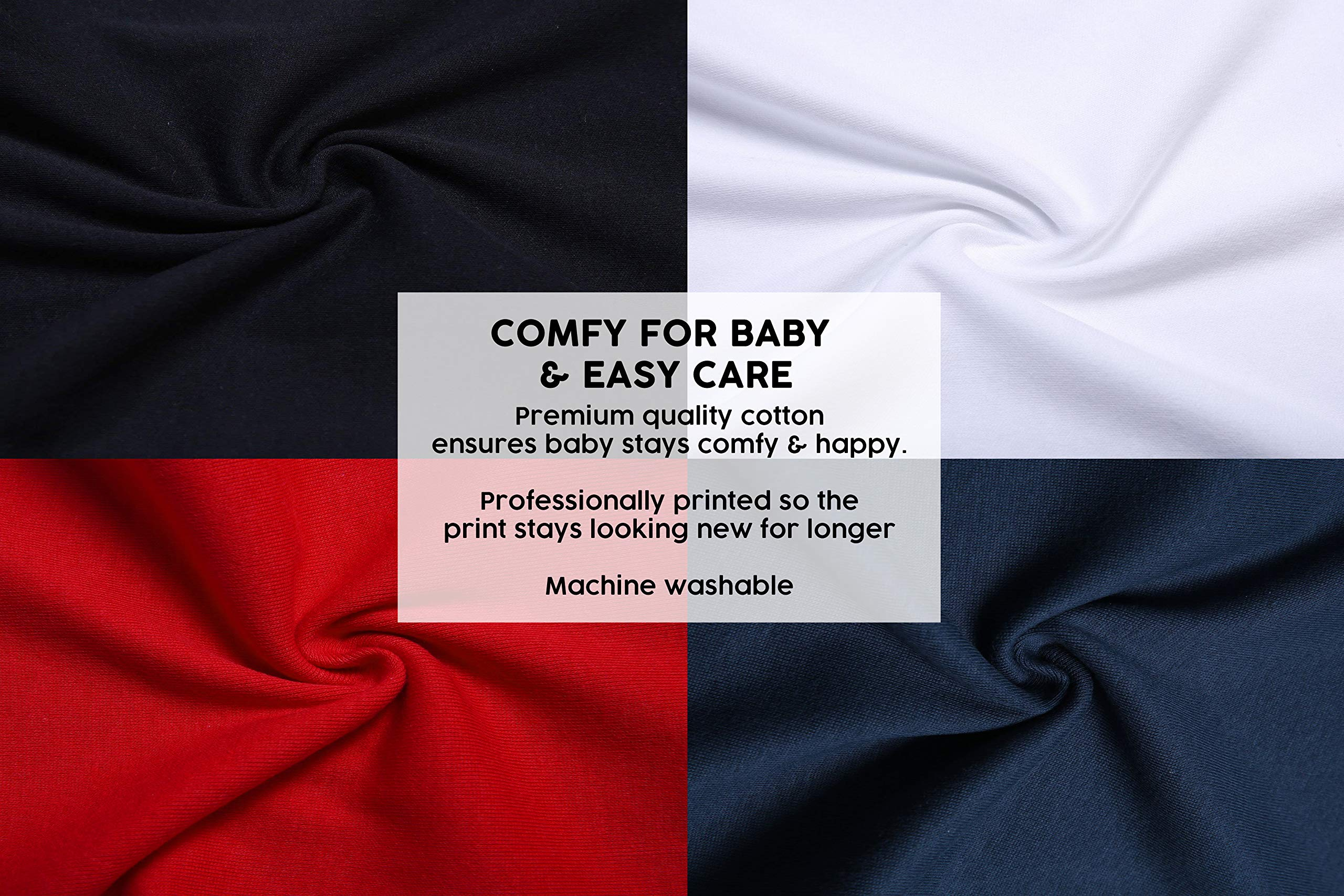 Pijama alternativo para bebé para niños o niñas | Mono pirata de calavera y huesos Jolly Roger - gótico ropa de bebé… 4