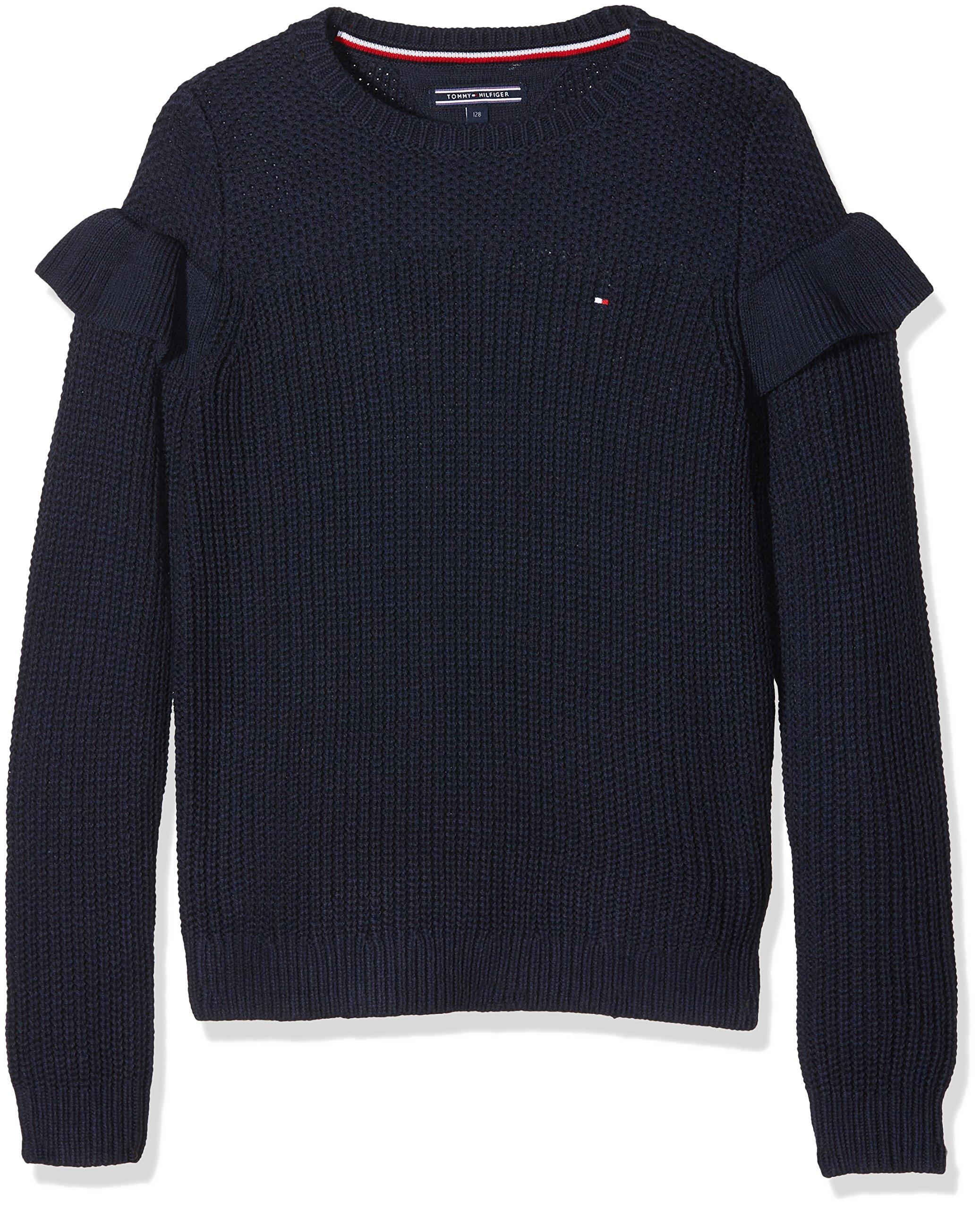 Tommy Hilfiger Ruffle Sweater L/S suéter para Niñas