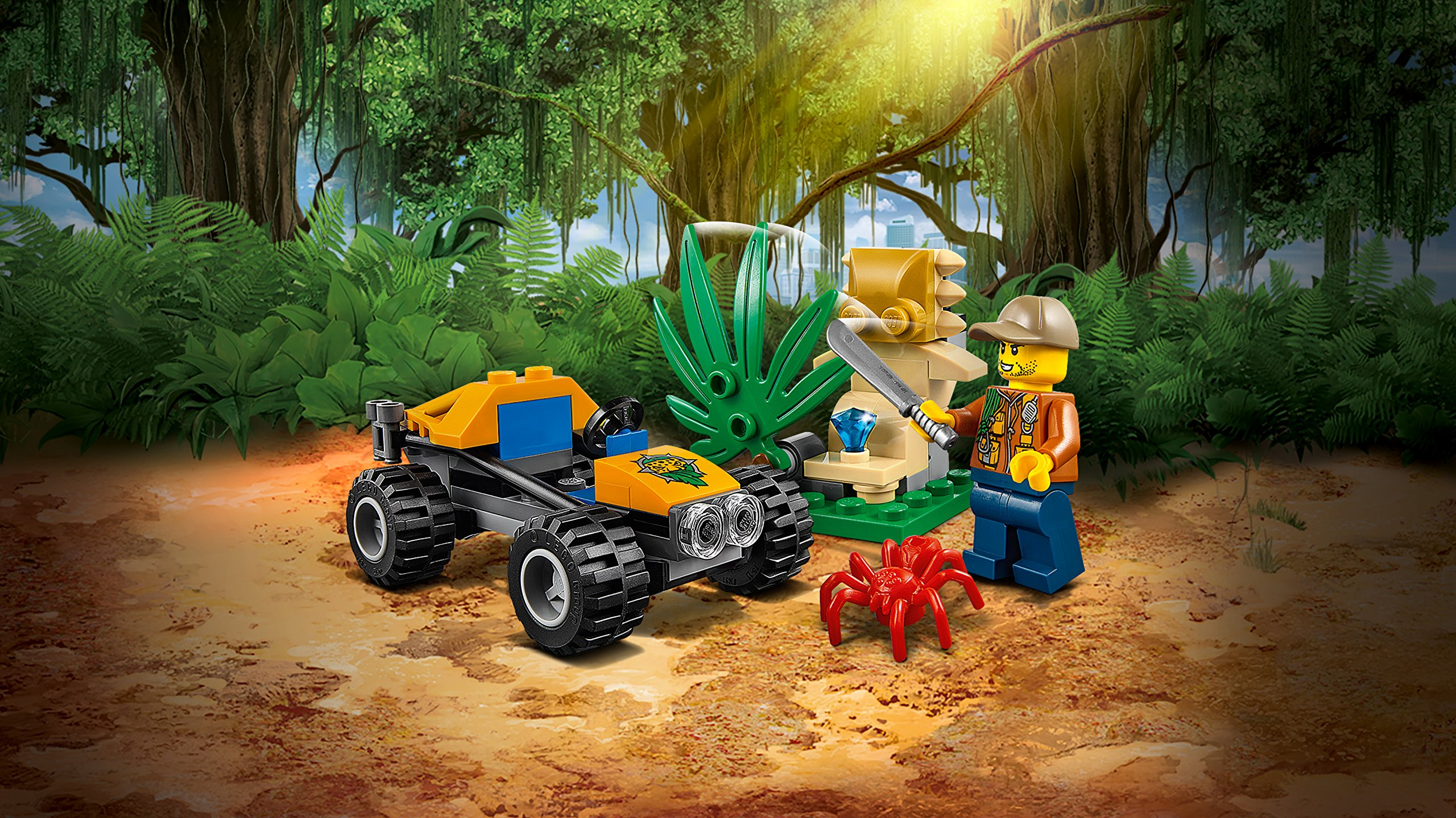 LEGO-60156-City-Jungle-Explorers-Buggy-della-giungla