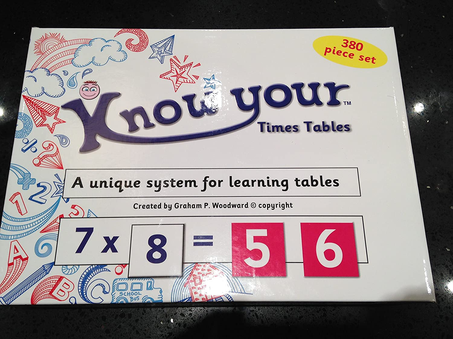 Know your times tables learning system amazon toys games gamestrikefo Choice Image