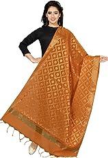 Rani Saahiba Women's Art Cotton Silk Dupatta