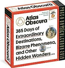 2019 Atlas Obscura Colour Page-A-Day Calendar