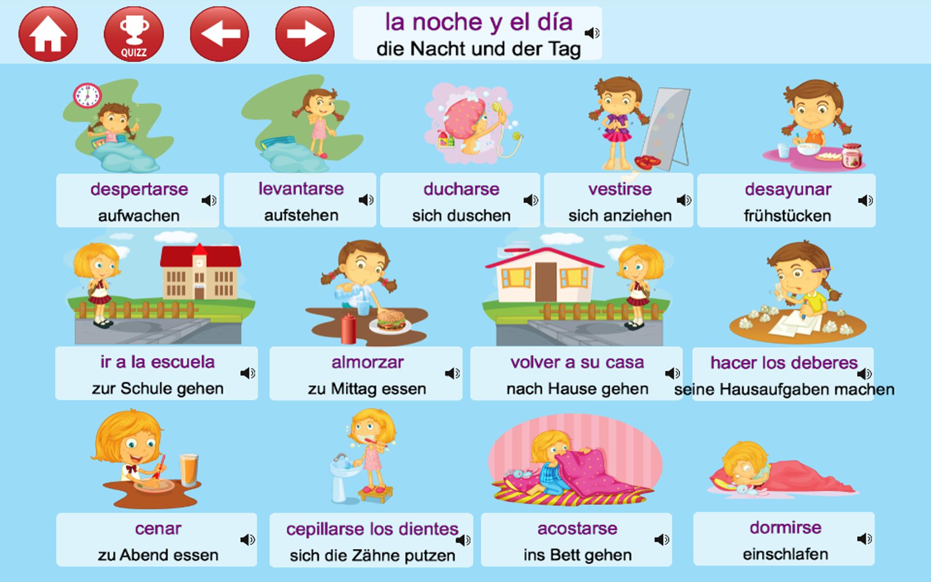 apprendre l 39 espagnol ecouter parler et jouer appstore pour android. Black Bedroom Furniture Sets. Home Design Ideas
