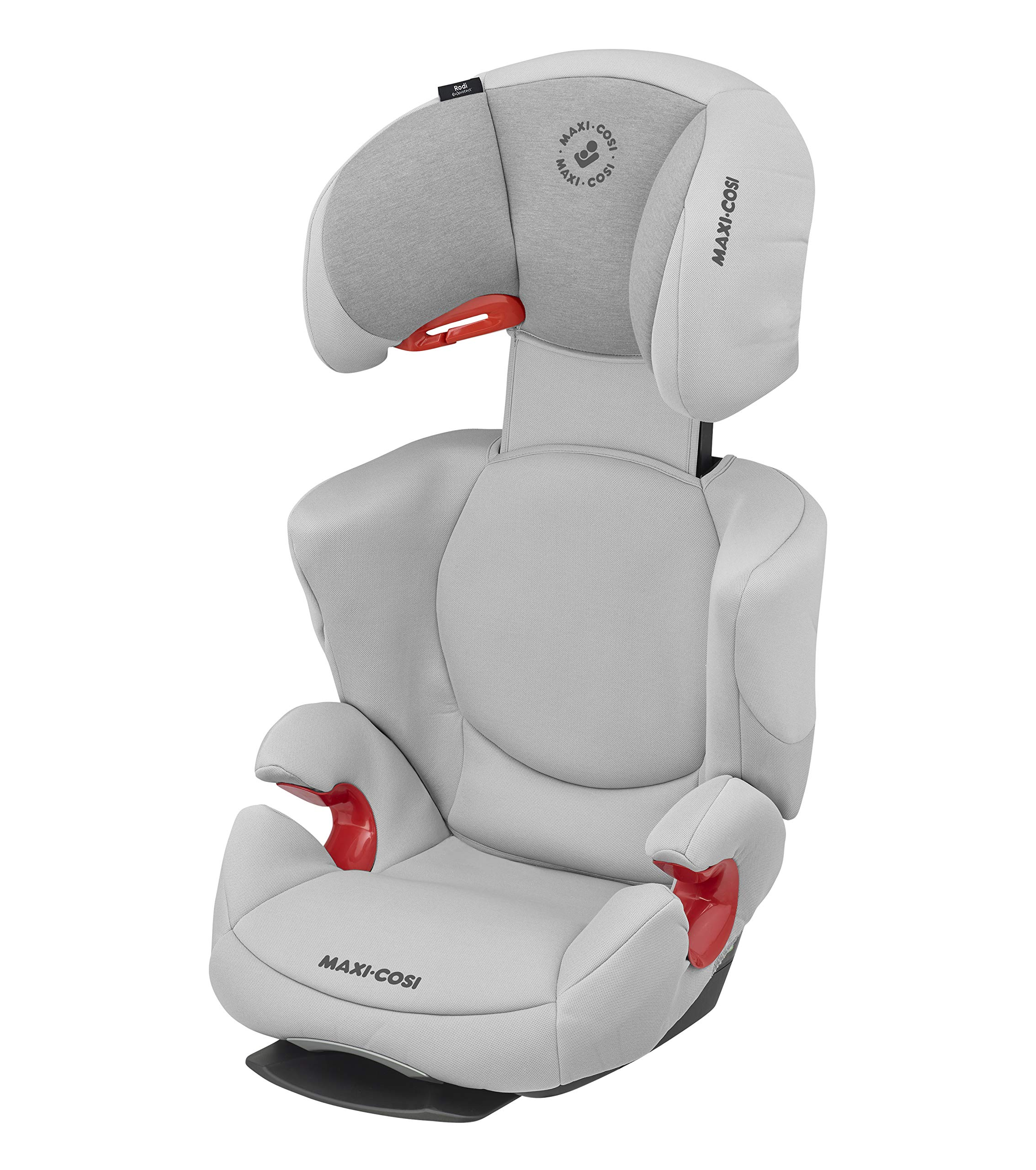 Maxi-Cosi Rodi AirProtect Child Car Seat, Highback Booster, Authentic Grey, 4.913 kg Maxi-Cosi Child car seat, suitable from 3.5 to 12 years (15 - 36 kg) Easily install this safe car seat with a 3-point seat belt and attach the anchorage point in the head rest through your cars head rest Patented air protect technology in headrest reduces the risk of head and neck injuries up to 20% 1