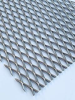 Lochblech Edelstahl RV5-8 V2A Roh 1,5mm dick Zuschnitt nach Ma/ß 500 mm x 100 mm