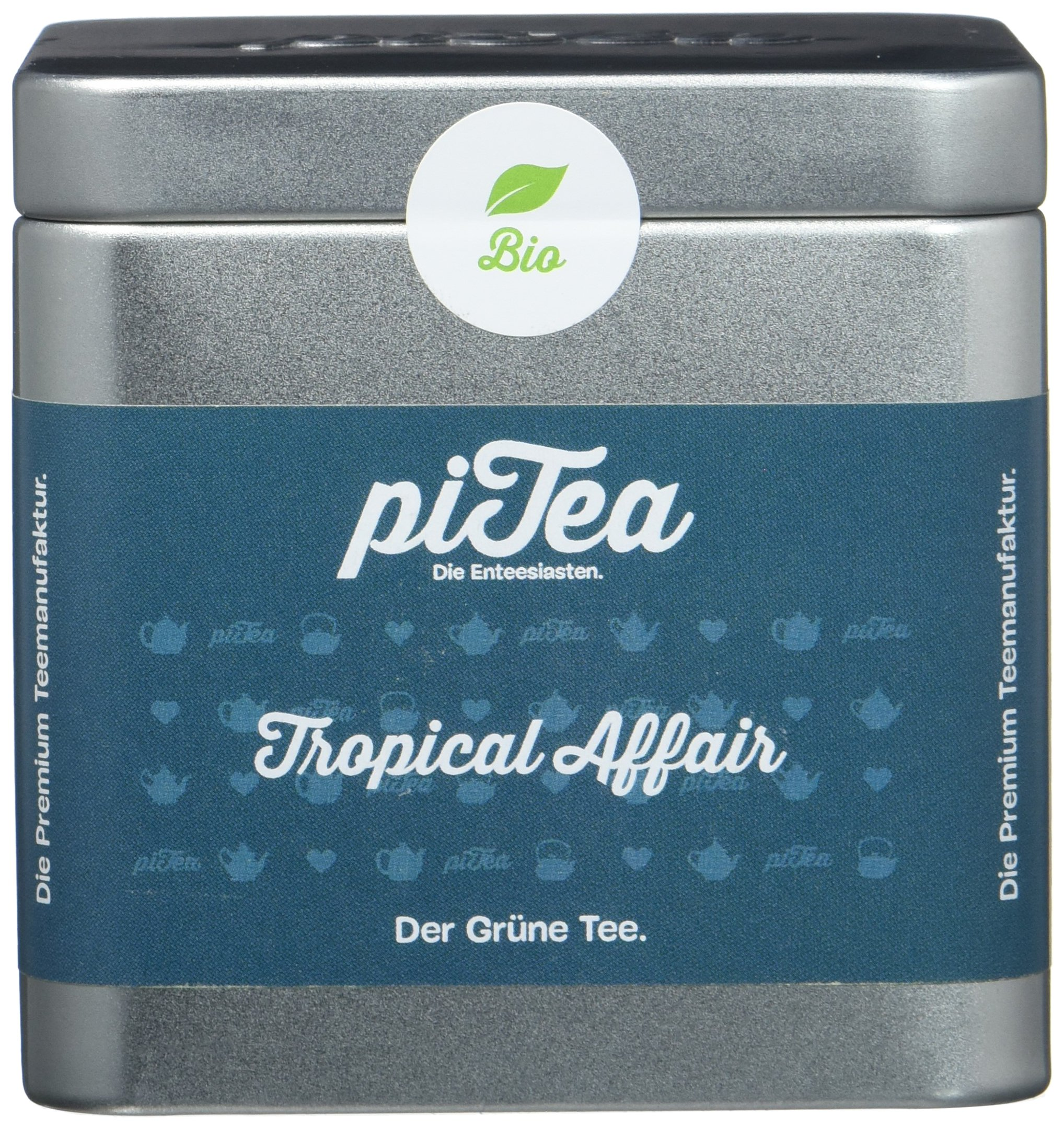 Pi-Tea-Tropical-Affair-Dose-Grner-Tee-Bio-Teestation-natrlich-und-vegan-2er-Pack-2-x-75-g