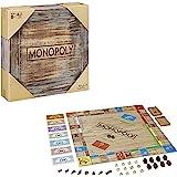 Monopoly Rustic, speciale editie van hout, de klassieker van bordspellen