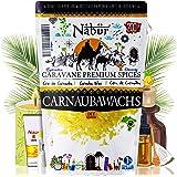 Nabür - Carnaubawas 200 g | levensmiddelenkwaliteit veganistisch alternatief voor bijenwas DIY cosmetica, lippenstiften, crèm
