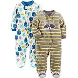 Simple Joys by Carter's Forro Polar para Dormir y Jugar Bebé-Niños, Pack de 2