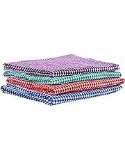 """COMFORT WEAVE Cotton Bath Towel, 29""""x58"""", Multicolour - Pack of 4 Piece"""