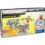 Geomag- Mechanics Motion 762 Juego de construcción magnético de 146 Piezas, Multicolor