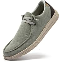 PAMRAY Homme Baskets Enfiler Sneakers Chaussures Lacets Basse Mocassins Espadrilles Outdoor Athlétique Classic
