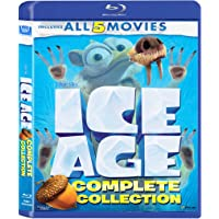 Ice Age: The Complete 5 Movies Collection - Ice Age + Ice Age 2: The Meltdown + Ice Age 3: Dawn of Dinosaurs + Ice Age 4…