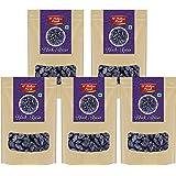 D'nature Fresh Premium Black Raisins Kishmish 1kg ( Pack of 5 - 200g Each)