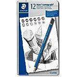 Staedtler St-100-G12 Mars Lumograph Pencil